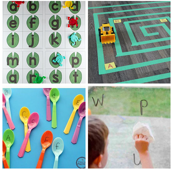 These alphabet games make learning letters a fun and engaging experience.