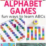 Alphabet Games for Preschool and Kindergarten
