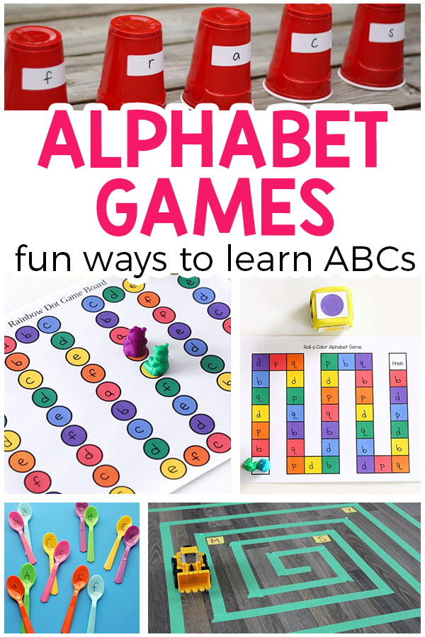 Alphabet Games Are A Great Way To Teach The Preschoolers And Kindergarten Students