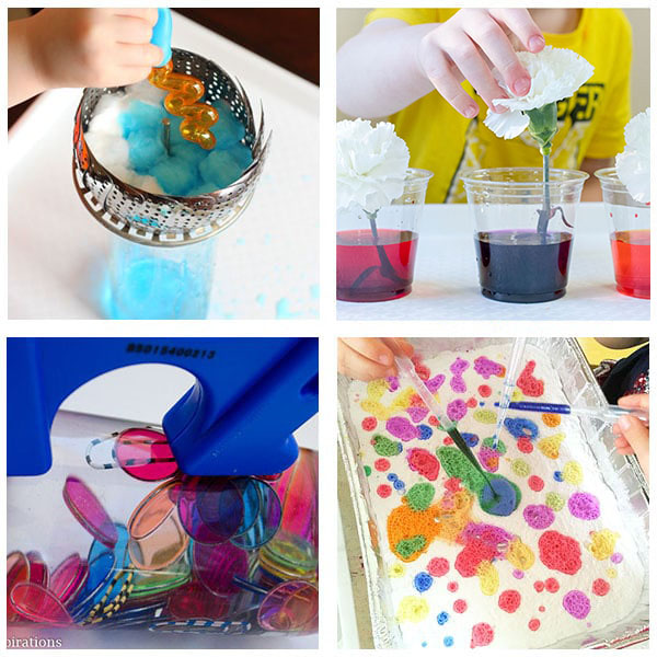Best Science Activities for Preschoolers Collage