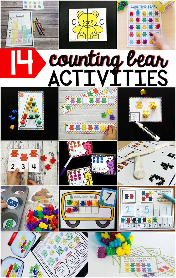 Counting bear activities