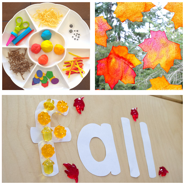 Fall activities roundup for preschoolers