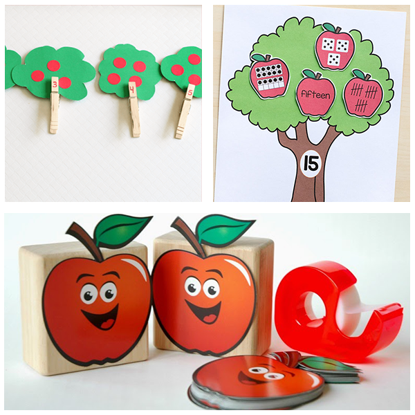 Fall apple tree activities for preschoolers