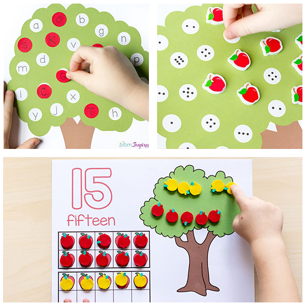 Fun apple activities for preschoolers