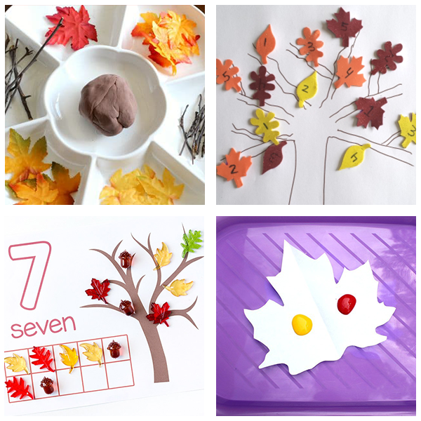 Fall tree roundup for preschoolers