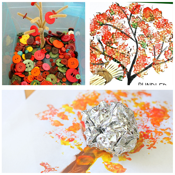 Fall tree roundup for preschoolers other