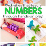 Hands-On Number Activities for Preschoolers