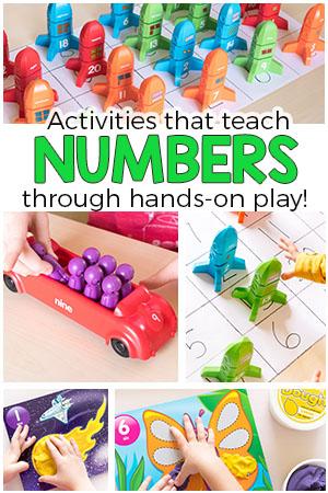 hands on learning activities for preschoolers on number activities for preschoolers 834