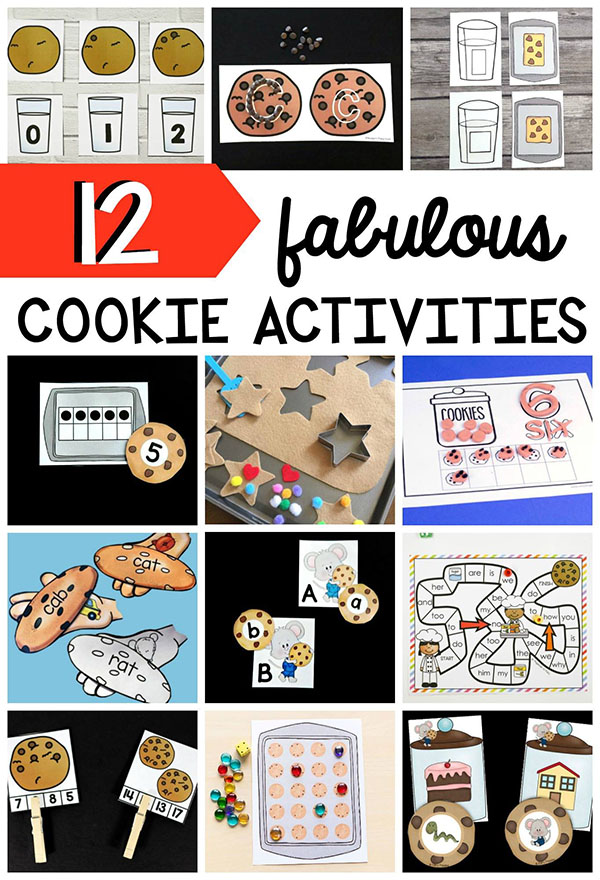 Cookie theme activities for kids!