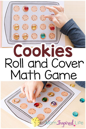 Cookie Math Game: A Roll and Cover Activity