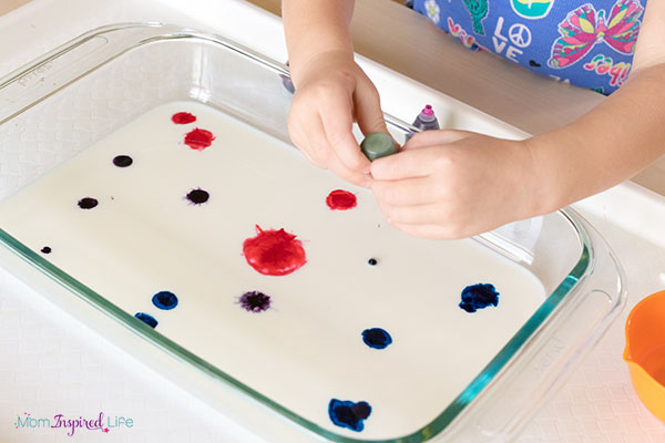 A simple science experiment for kids.