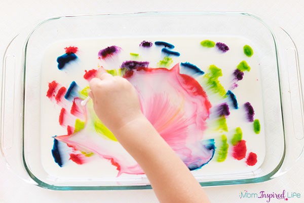 A colorful and exciting STEAM activity for young kids.