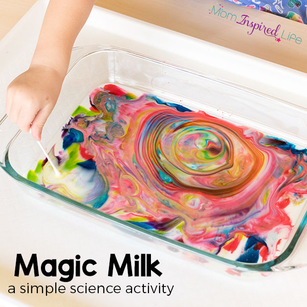 This magic milk science experiment is sure to WOW your preschoolers!