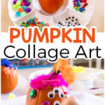 Decorate a Pumpkin Collage Art Activity