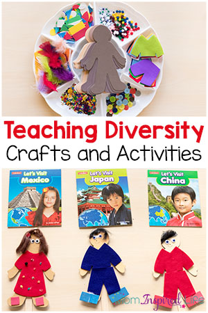 Teaching Diversity with Crafts and Activities