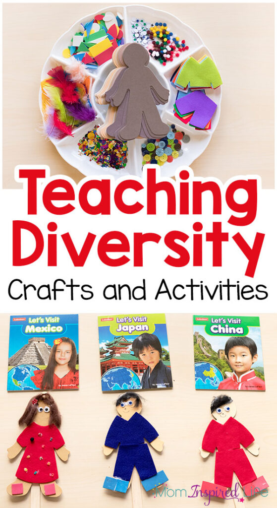 Craft Ideas With Diversity With Kids