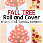 Fall Tree Roll and Cover Activity