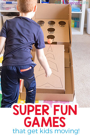 Active Games for Kids that are Super Fun!