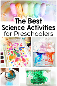 BEST SCIENCE ACTIVITIES FOR PRESCHOOLERS