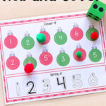 Ornament Roll and Cover Mats for Math and Literacy
