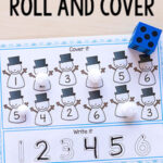 Snowman Roll and Cover Mats