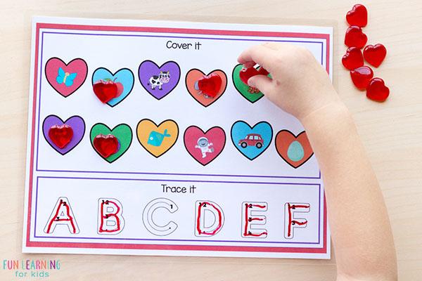 Preschool Valentine's Day activities.