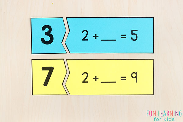Printable Number Sense Activities for Kindergarten and First Grade