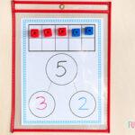 Number bond ten frame mats.