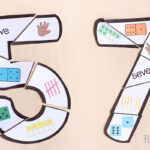 Number formation puzzles.