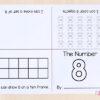 Interactive number sense mini books.