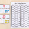 Place value puzzles for numbers 11-30