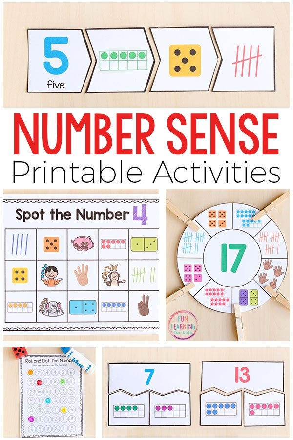 Hands-on printable number sense activities that you can use in your math centers or guided math groups? These math activities build number sense and cover things like counting, composing and decomposing numbers, reading and writing numbers, ten frames, number bonds and place value to just name a few!