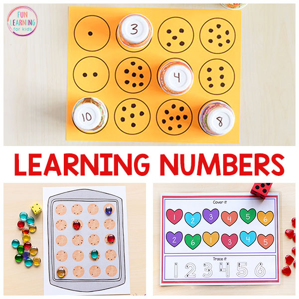 These number activities make learning numbers so much fun!