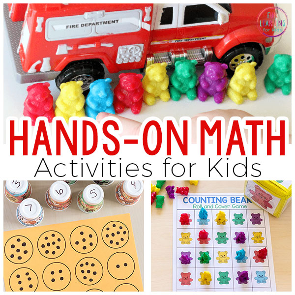 Teach a variety of early math concepts and develop number sense with these fun math activities for kids.