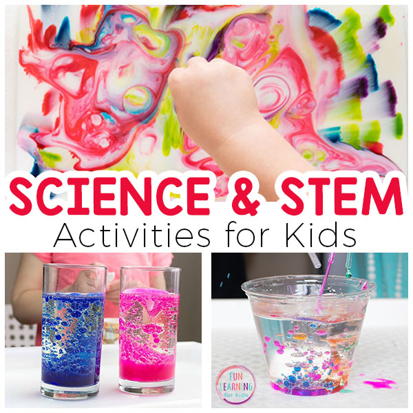 Amazing science activities, experiments and STEM activities that your kids will love!