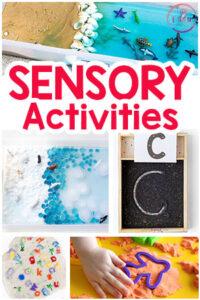 Sensory Play Activities and Sensory Bins