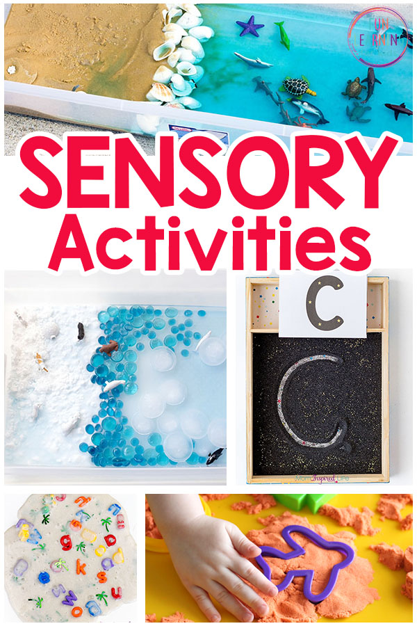 Fun sensory play activities for kids.