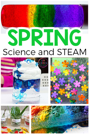 Spring science activities and STEAM investigations for preschool and elementary. These spring science experiments are sure to be a blast!
