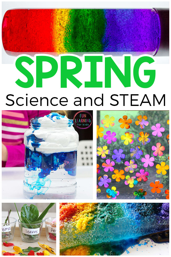 Simple Spring Science And Steam Activities