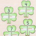 Shamrock Number Bond Puzzles