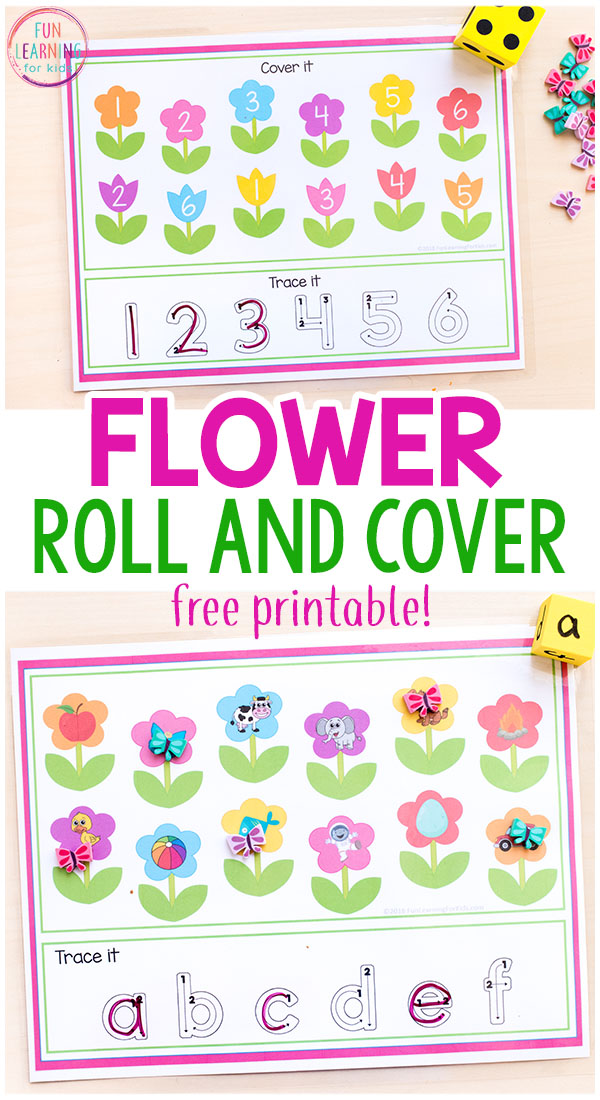 Spring flower roll and cover mats mightylinksfo Choice Image