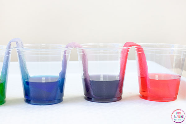 Teach kids about color and color mixing with a fun science activity.