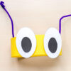 Bug headband craft for insect theme.
