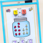 Bug Jar Addition and Subtraction Mats