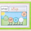 Caterpillar word building mats
