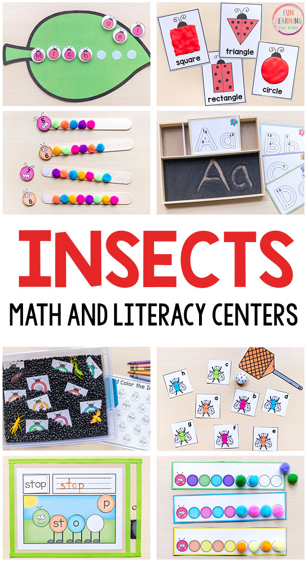 Insect Craft Activities