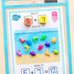 Ocean Addition and Subtraction Mats
