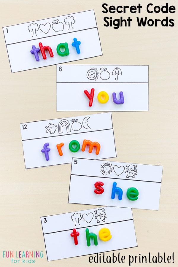 graphic about Printable Sight Word Games identify Editable Sight Term Online games