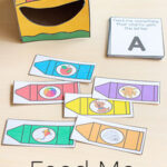 Feed Me Beginning Sounds Crayon Activity for Back to School