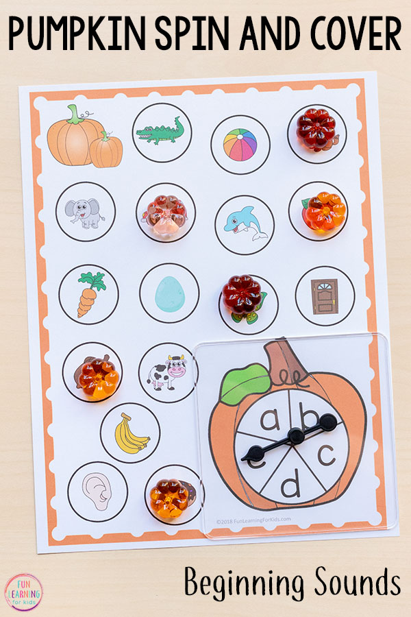 These differentiated beginning sounds activities are great for kids in kindergarten!